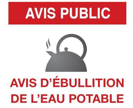 Levée partielle de l'avis d'ébullition en cours dans l'ouest de l'île de Montréal