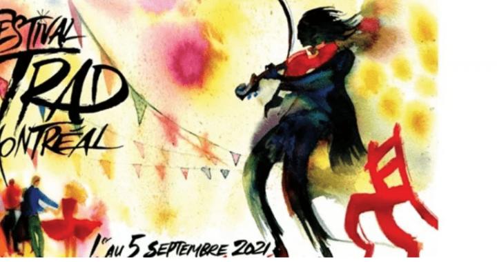 Festival Trad Montréal 2021 à la maison de la culture d'Ahuntsic-Cartierville