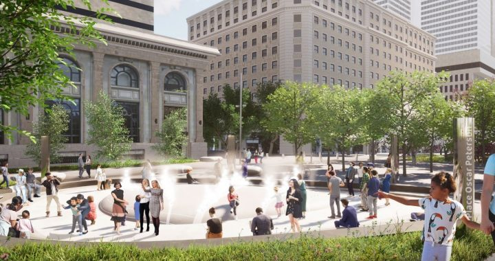 La Ville de Montréal rend hommage à l'artiste Oscar Peterson en créant une place à son nom dans le cadre du projet de réaménagement de l'avenue McGill College