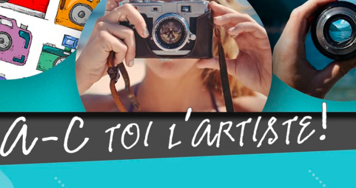 A-C toi l'artiste photographe ou créateur de son
