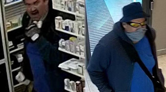Vol qualifié dans une pharmacie de Montréal-Est : deux suspects recherchés