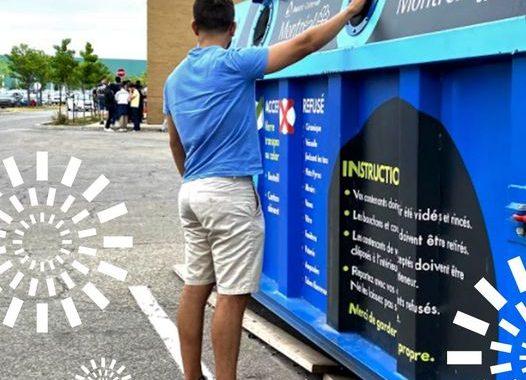 Ahuntsic-Cartierville reconduit le projet pilote de récupération du verre pour une deuxième année