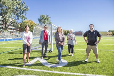 Cure de jeunesse pour des infrastructures sportives au parc Dalbé-Viau à Lachine