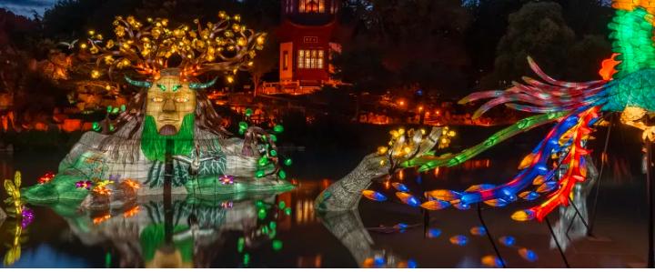 L'événement Jardins de lumière comme vous ne l'avez jamais vu
