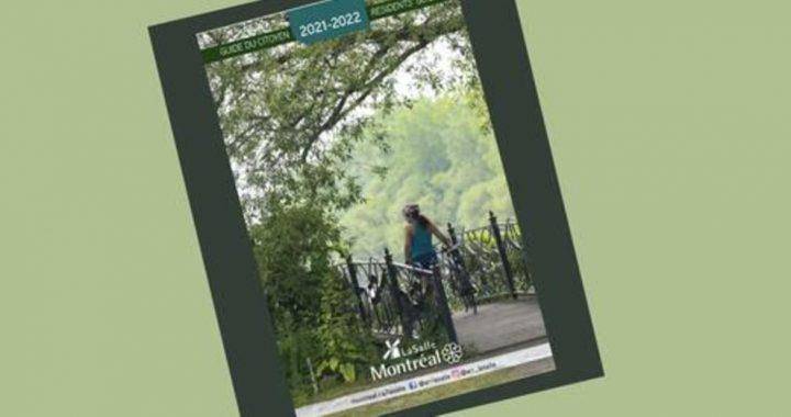 Le voici, le voilà : le Guide du citoyen 2021-2022 de LaSalle!