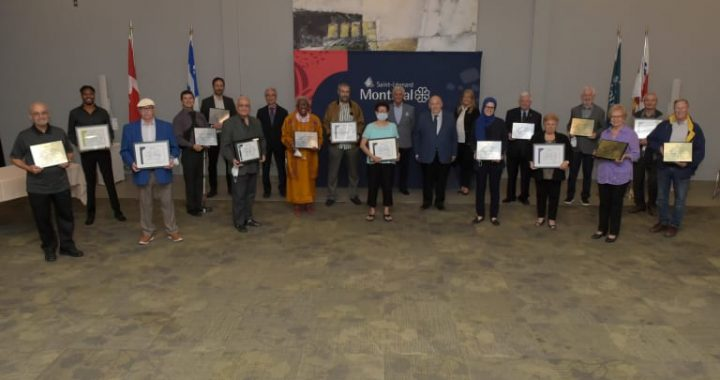 L'arrondissement de Saint-Léonard rend hommage à 20 organismes partenaires
