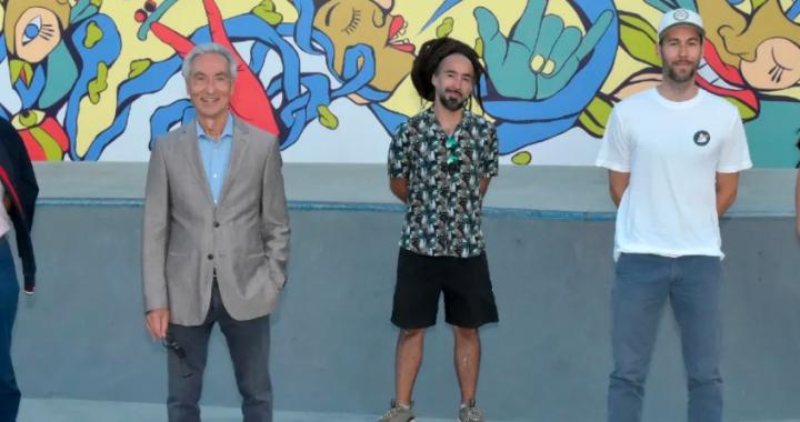 Une nouvelle murale au parc Delorme à Saint-Léonard