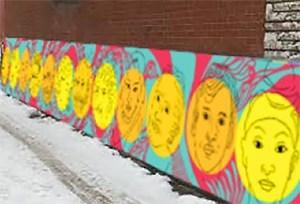 Quatre nouvelles murales dans les ruelles vertes de VSP