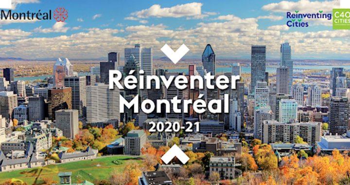 Réinventer Montréal 2020-2021 : les projets finalistes présentés au jury