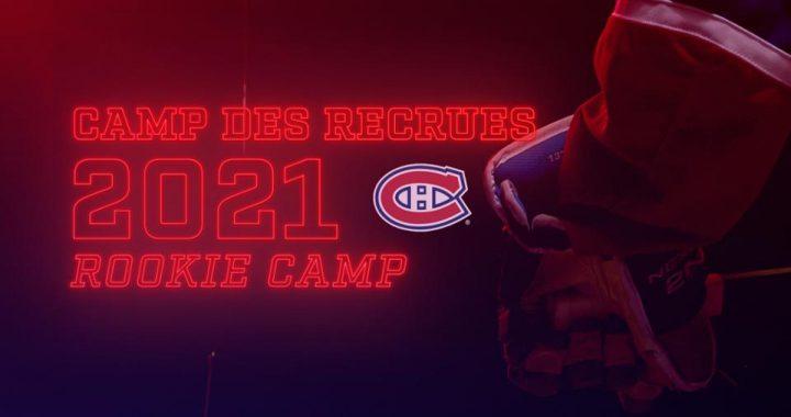 27 joueurs sont invités au camp des recrues des Canadiens 2021
