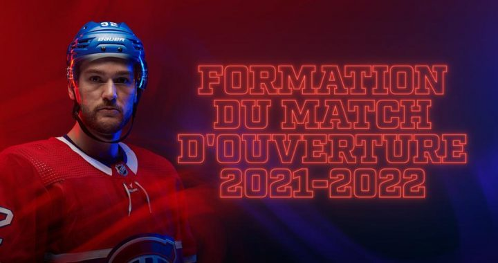 Les Canadiens dévoilent leur liste de 23 joueurs